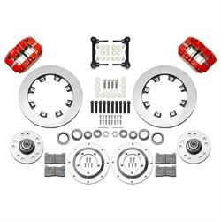 Wilwood 140-15909-R AFX Front Brake Kit, 11.75 Inch Rotor, Red