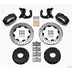 Wilwood 140-3722-BD FDLI Rear Brake Kit, Big Ford 2.36 Off,Currie,Blank