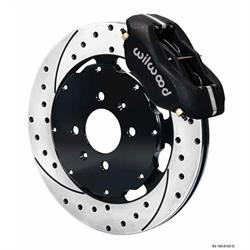 Wilwood 140-6310-D FDL 12.19 Front Disc Brake Kit, 1988-00 Civic/CRX