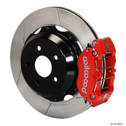 Wilwood 140-7006-R Dynapro Lug Mount Rear Disc Brake Kit, 99-08 Subaru