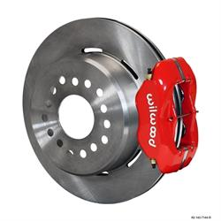 Wilwood 140-7144-R FDL Rear Brake Kit, Mopar/Dana 2.36 Off