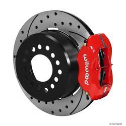 Wilwood 140-7149-DR FDLI Rear Parking Brake Kit, GM 12-Bolt