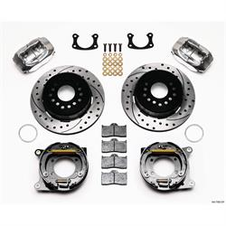 Wilwood 140-7582-DP FDLI Rear Brake Kit, New Big Ford 2.36 Off