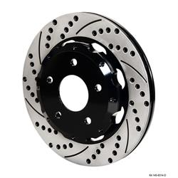 Wilwood 140-8314-D Promatrix Rear Rotor Brake Kit, 1988-96 Corvette C4