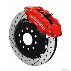 Wilwood 140-8337-DR FNSL6R 12.88 Front Disc Brake Kit, 1988-96 Corvette
