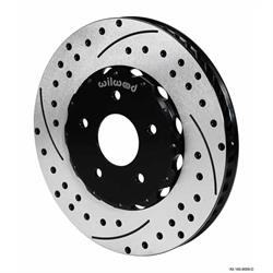 Wilwood 140-8443-D Promatrix Front Rotor Brake Kit, 1994-04 Mustang