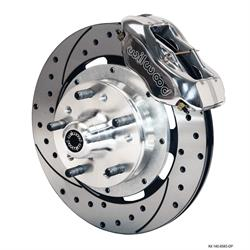 Wilwood 140-8583-DP FDLI 12.19 Inch Front Disc Brake Kit, 1937-49 Ford