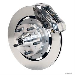 Wilwood 140-8583-P FDLI 12.19 Inch Front Disc Brake Kit, 1937-49 Ford