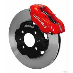 Wilwood 140-8695-R FDL 11 Inch Front Disc Brake Kit, 1988-00 Civic/CRX
