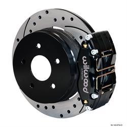 Wilwood 140-8754-D Dynapro Radial Mnt Rear Brake Kit,04-06 Pontiac GTO