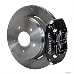 Wilwood 140-8754 Dynapro Radial Mount Rear Brake Kit,04-06 Pontiac GTO
