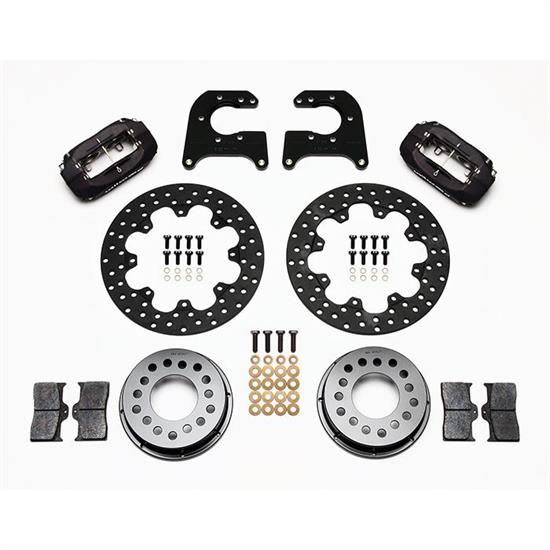 Wilwood 140-8853-D FDL 11.44 Rear Drag Disc Brake Kit, 1961-89 Mopar
