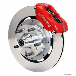 Wilwood 140-9053-R FDL 12.19 Inch Front Disc Brake Kit, 1979-90 GM