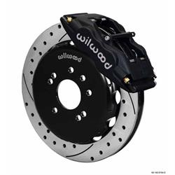 Wilwood 140-9194-D FSLI4 Front Disc Brake Kit, 1989-98 Nissan 240SX