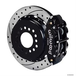 Wilwood 140-9219-D FNSL 4R Rear Brake Kit, Big Ford New Style 2.50 Off