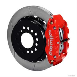 Wilwood 140-9222-R FNSL 4R Rear Brake Kit, Mopar/Dana 2.36