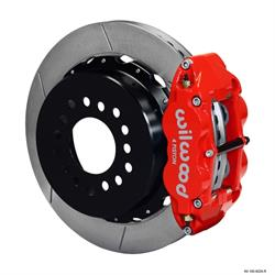 Wilwood 140-9224-R FNSL 4R Rear Brake Kit, 58-64 Olds/Pontiac 2.81