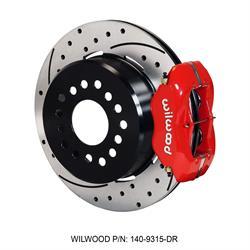 Wilwood 140-9315-DR FDLI Rear Brake Kit, 12 Bolt, 2.75 Off,Stag Shock