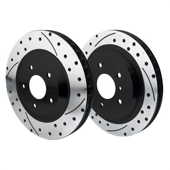 Front Brake Discs Rotors For 1997 1998 1999 2000-2004 Chevrolet Corvette Vented