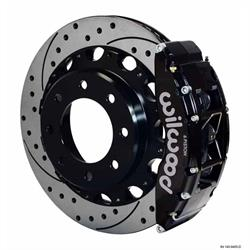 Wilwood 140-9405-D TC6R 16 Inch Rear Disc Brake Kit, 99-06 GM H2/2500