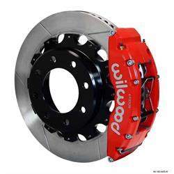 Wilwood 140-9405-R TC6R 16 Inch Rear Disc Brake Kit, 99-06 GM H2/2500