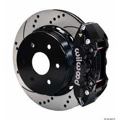 Wilwood 140-9407-D W4A 14.25 Rear Brake Kit, 99-Up GM 1500 Pickup/SUV