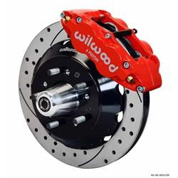 Wilwood 140-9802-DR FNSL6R Front Disc Brake Kit,74-80 Pinto/Mustang II