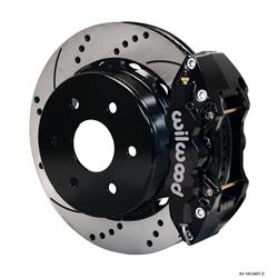 Wilwood 140-9838-D W4A Rear Disc Brake Kit, 2000-07 GM 1500 Pickup/SUV