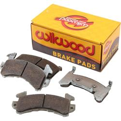Wilwood 150-12250K D154 PolyMatrix BP-40 Brake Pad Set, GM Metric