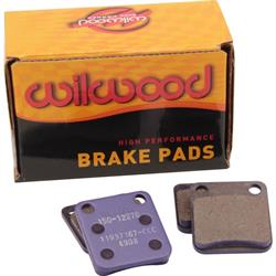 Wilwood 150-12270K 4908 Brake Pad Set, Alum Rotor, GP200, .31 In Thick