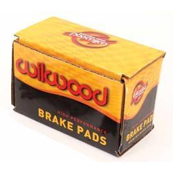 Wilwood 150-9683K 7012 DLS Brake Pad Set, Alum Rotor, .50 Inch Thick