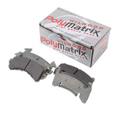 Wilwood 15A-6219K D154 PolyMatrix A Brake Pad Set, GM Metric