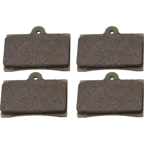 Wilwood 15B-11966K 6211 PolyMatrix B Brake Pad Set, GP320, .44 In Thk