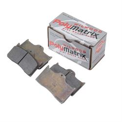 Wilwood 15B-3991K 7112B DL PolyMatrix Brake Pad Set, DLII/BDL/FDL