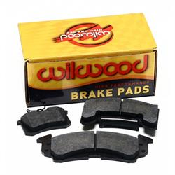 Wilwood 15E-13010K 6620 PolyMatrix E Brake Pad Set Aero4 Rad Mt .80 In