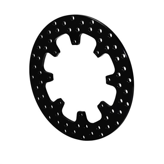 Wilwood 160-0525 Sprint/Mod Drilled Steel Rotor, 12 x .350 - 8 on 7.00