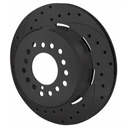 Wilwood 160-10051-BK SRP LH Drilled Rotor/Hat, 2.32 Inch Offset, Black
