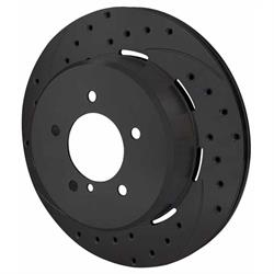 Wilwood 160-10327-BK SRP Drilled RH Rotor/Hat, 1.75 In Offset BLK