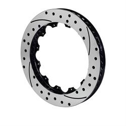 Wilwood 160-11309-BK SRP Drilled RH Iron Rotor, 14.25x1.10, 12 on 8.75