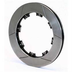 Wilwood 160-12206 Ultralite HPS 32 Vane GTS Vented Iron Rotor, 12.19