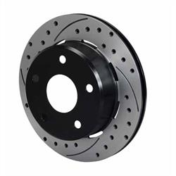 Wilwood 160-13336-BK SRP Drilled RH Rotor/Hat, 1.91 Inch Offset, Black