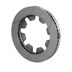 Wilwood 160-3585 GT 48 SPC-37 Curved Vane LH Rotor, 13.06 x 1.38 Inch