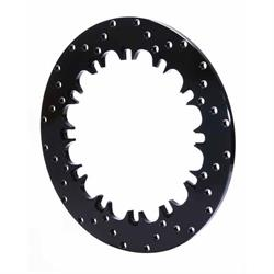 Wilwood 160-4766 Drilled Steel Dynamic Mount Front Rotor, SSF 12.90 In