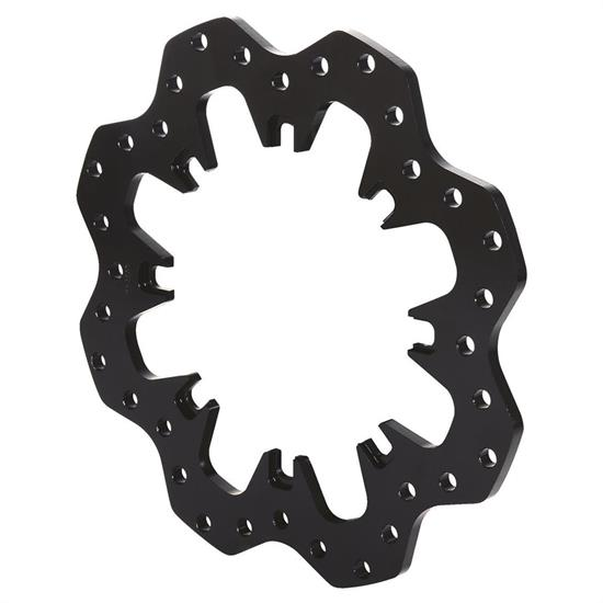 Wilwood 160-5538 Drilled Steel Scalloped Dynamic Mnt Sprint/Mod Rotor