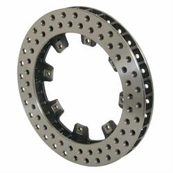 Wilwood 160-5864 Ultralite 32 Vane Drilled Vented Iron Rotor, 11.75 In