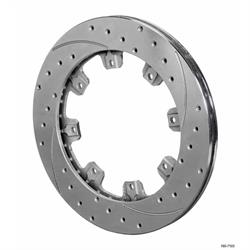 Wilwood 160-7105  SRP Drilled RH Iron Rotor, 12.19 x .810 Inch