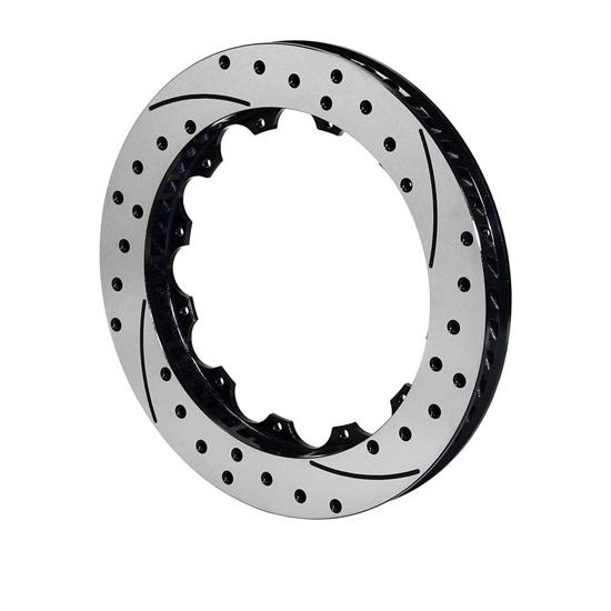 Wilwood 160-7744-BK SRP Drilled RH Rotor, 12.80x1.25 - 12 on 7.06 Inch