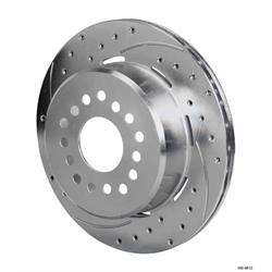 Wilwood 160-9812 SRP Drilled RH Rotor/Hat, 1.91 Inch Offset, 12.19 In.