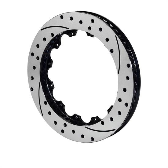 Wilwood 160-9961-BK SRP Drilled RH Iron Rotor, 12.88x.810 - 12 on 8.75