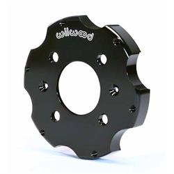Wilwood 170-8643 Front Big Brake Drag Hat, .655 Inch Offset, 4 x 3.93